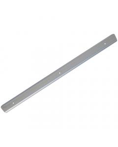 Mr Plastic Worktop Aluminium Corner Joint - 600mm x 40mm - Silver