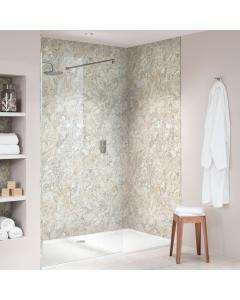 Bushboard Nuance Quarry Soft Mazzarino Bathroom Wall Panel - Tongue & Groove - 600mm