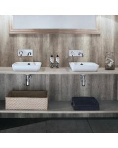 Bushboard Nuance Granite Driftwood Bathroom Wall Panel - Tongue & Groove - 600mm