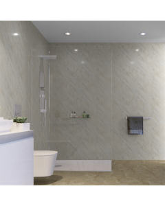 SplashPanel PVC Pergamon Marble Gloss Wall Panel - 1000mm