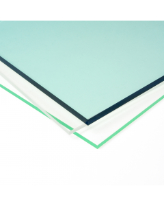 Mr Plastic Extruded Acrylic Plastic Sheet - 2mm - 610mm x 610mm
