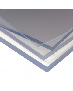 Mr Plastic Solid Polycarbonate Sheet - A6 Size - 2mm - 148mm x 105mm