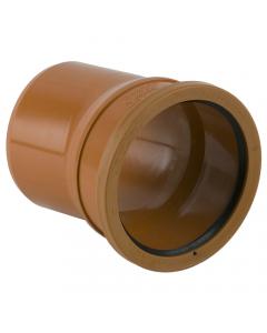 Brett Martin 110mm Underground Drainage Single Socket 11.25 Degree Bend