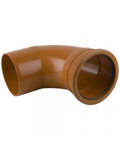 Brett Martin 160mm Underground Drainage Single Socket 87.5 Degree Bend