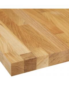 Basix Solid Wood European White Oak Worktop