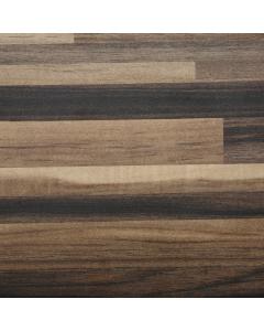 Bushboard Omega Ultramatt Ebony Stripwood Midway Splashback - 3000mm x 600mm x 8mm