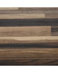 Bushboard Omega Ultramatt Ebony Stripwood Worktop