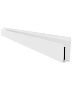 Freefoam Soffit J Starter Trim - 2.5 Metre - White