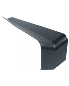 Freefoam Square Edged Fascia Board 135 Degree Internal Corner - 300mm - Woodgrain Anthracite Grey