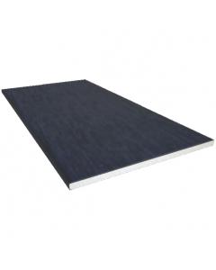 Freefoam 100mm x 10mm Solid Soffit Board - 5 Metre - Woodgrain Anthracite Grey