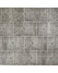 Proplas PVC Tile Stone Graphite Matt Wall Panel - 2800m x 250mm x 8mm (4 Pack)