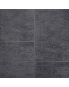 Proplas PVC Large Tile Anthracite Satin Wall Panel - 2700mm x 400mm x 8mm (5 Pack)