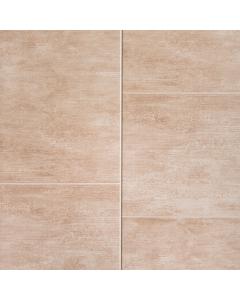 Proplas PVC Large Tile Beige Satin Wall Panel - 2700mm x 400mm x 8mm (5 Pack)