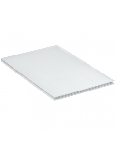 Mr Plastic Multiwall Polycarbonate Sheet - 10mm - 2.5 Metre x 1200mm - Opal