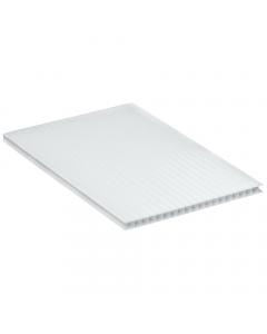 Mr Plastic Multiwall Polycarbonate Sheet - 10mm - 2.5 Metre x 800mm - Opal