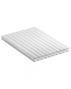 Mr Plastic Multiwall Polycarbonate Sheet - 16mm - 2.5 Metre x 800mm - Clear
