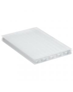 Mr Plastic Multiwall Polycarbonate Sheet - 25mm - 2.5 Metre x 1200mm - Opal