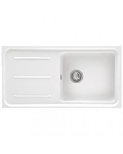Tuscan Maranella Granite Inset Sink - 1 Bowl - Polar White