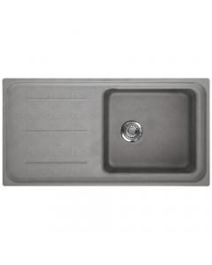 Tuscan Maranella Granite Inset Sink - 1 Bowl - Stone Grey