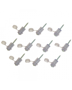 """Mr Plastic Corrugated Roofing Fixing Buttons For 3"""" Sheets (10 Pack)"""