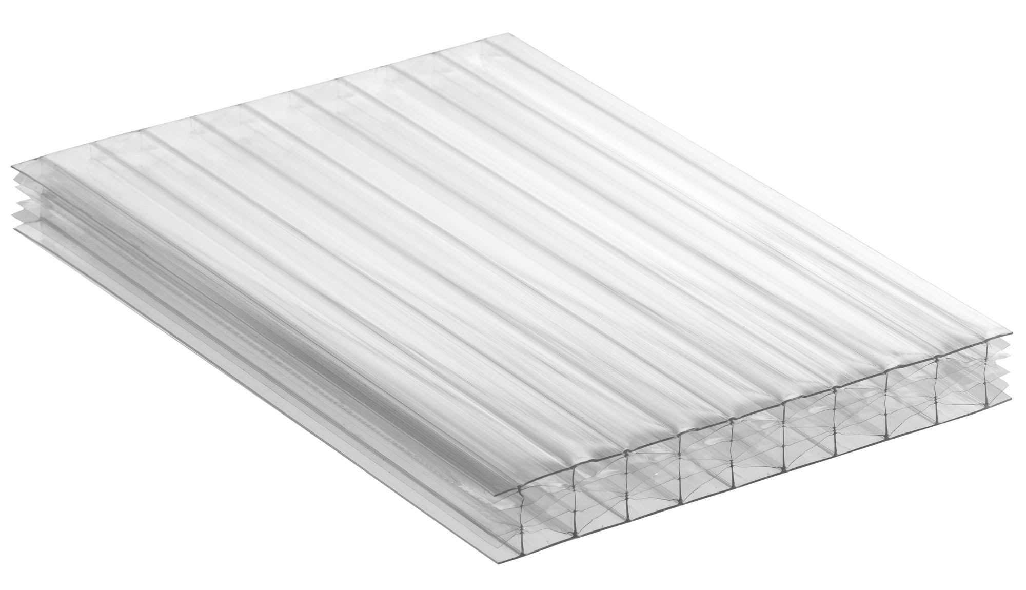 Clear Tint Polycarbonate Multiwall Roofing Sheets