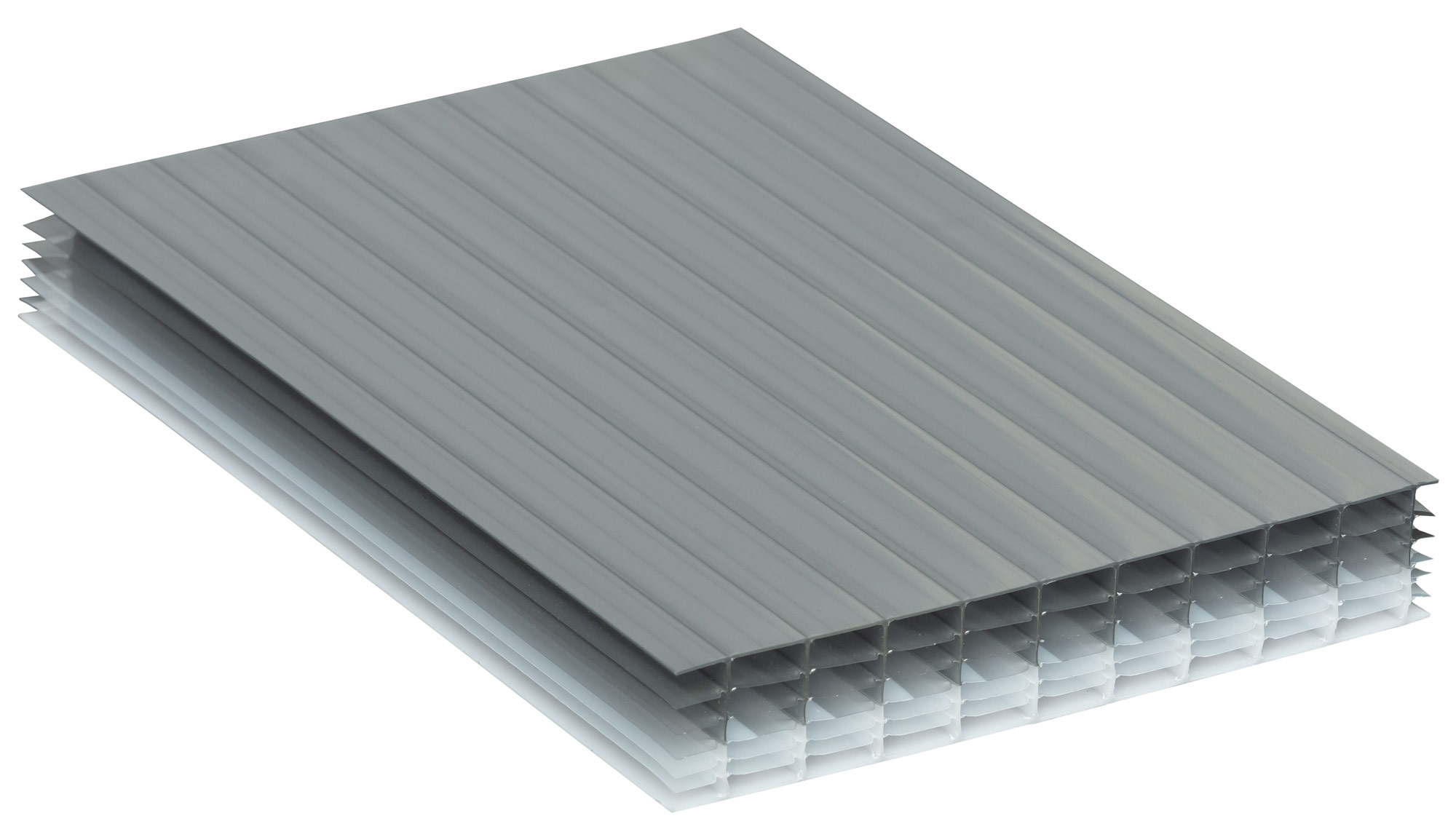 Heatguard Opal Tint Polycarbonate Multiwall Roofing Sheets