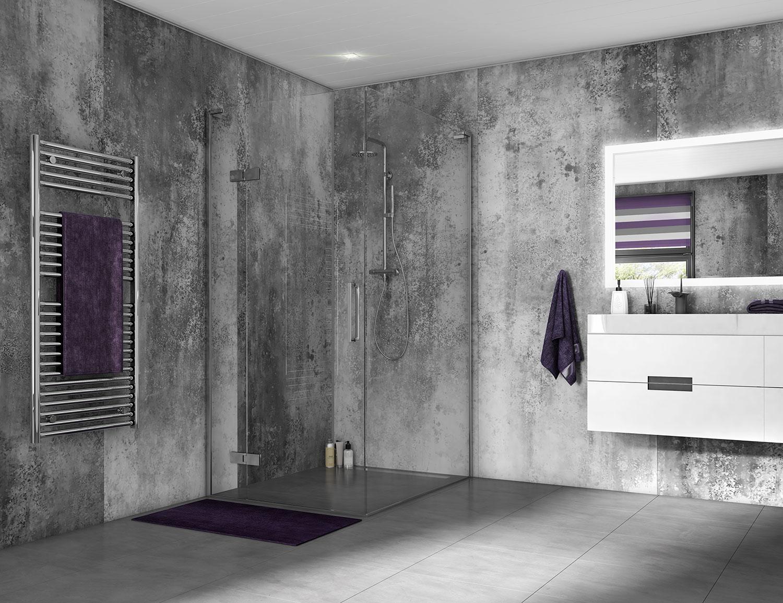 SplashPanel Shower Wall and Ceiling Panels #1